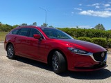2020  Mazda 6 Sport Wagon (Red) Used Car Thumbnail