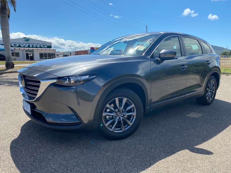 2020  Mazda Cx-9 Sport Wagon (Grey) Used Car  Large Picture 2