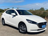 2019  Mazda 2 G15 Pure Sedan (White) Used Car Thumbnail