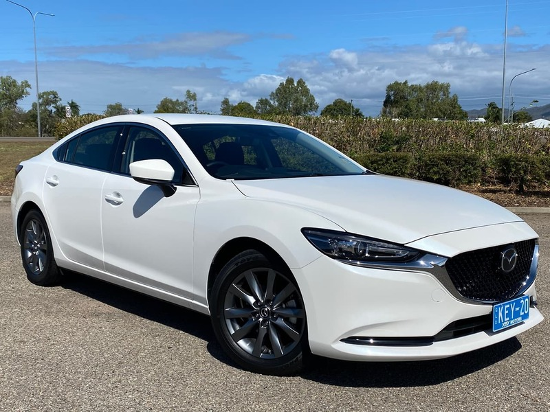 2020  Mazda 6 Sport Sedan (White) Used Car  Large Picture 1