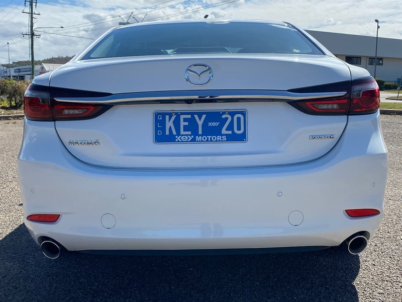2020  Mazda 6 Sport Sedan (White) Used Car  Large Picture 6