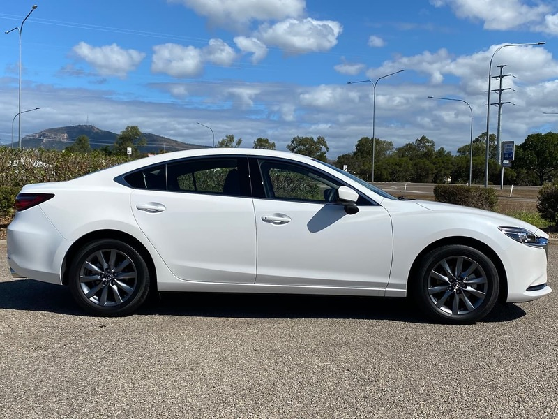 2020  Mazda 6 Sport Sedan (White) Used Car  Large Picture 4