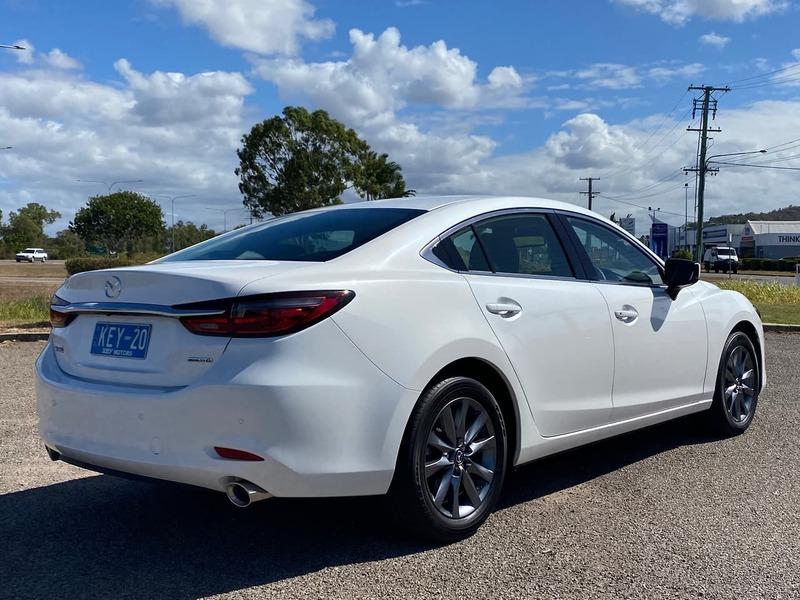 2020  Mazda 6 Sport Sedan (White) Used Car  Large Picture 5