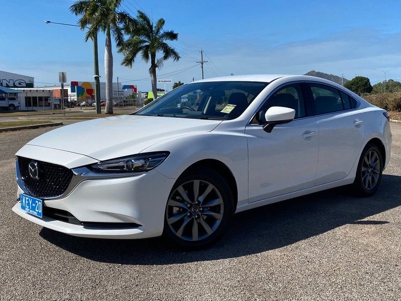 2020  Mazda 6 Sport Sedan (White) Used Car  Large Picture 2