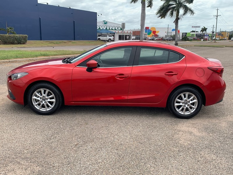 2014  Mazda 3 Maxx Sedan (Red) Used Car  Large Picture 4